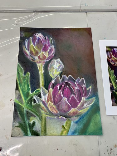 My new works with pastels
