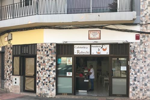 Cafetería y Panadería Robychi, Parque Franchy Roca, Telde