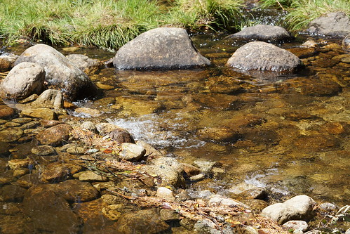Agua entre piedras...