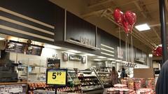 Deli - Valentine's balloons - rolling pin family (STILL) in quarantine(!) - Bakery
