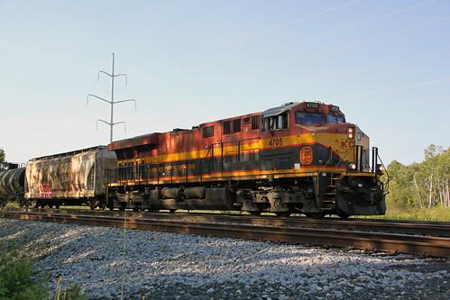 KCS 4705 East Portage CP 586 8/21/2020