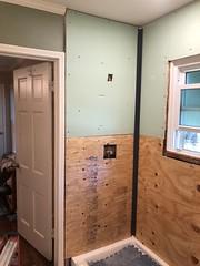 Edgehill Shower installation