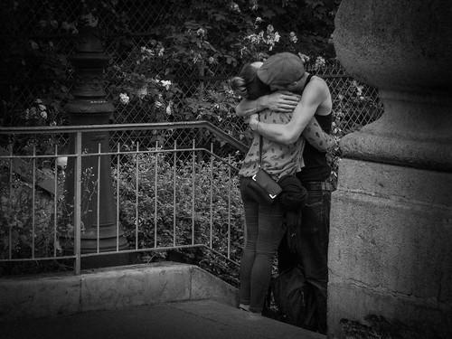 Passionate Embrace, Paris