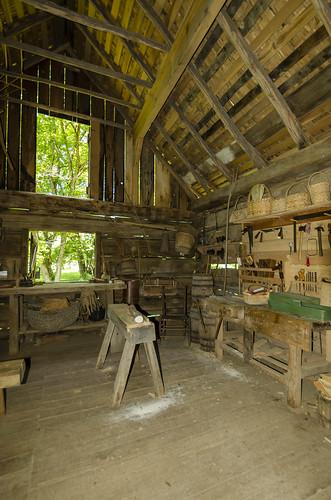 Tool Barn Circa 1850