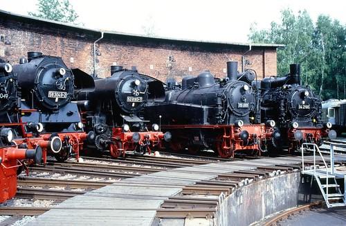 DR 75 501 (ex K.Sächs.Sts.E.B. XIV HT 1851; Hartmann 1916) DDM Neuenmarkt(Ofr.) + 94 2105 (ex Sächs.Sts.E.B. XI HT 2129; Hartmann 1923) VSE Schwarzenberg(Erzgeb.) + 52 8183-7 (ex 52 8183) VSE Schwarzenberg(Erzgeb.) + 58 3049-2 VSE Schwarzenberg