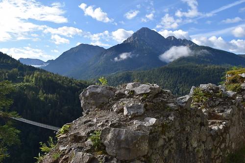 Burgruin Ehrenberg, Tyrol, Österreich / Ehrenberg castle ruin, Tyrol, Austria