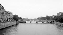 First Day's Walk in Paris (70) bw