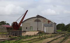 Shed and Crane