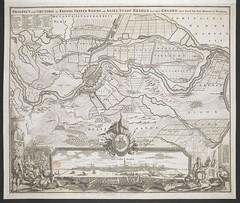 """The BL King's Topographical Collection: """"PROSPECT und GRUNDRIS der KEISERL. FREYEN REICHS und ANSEE STADT BREMEN samt ihrer GEGEND """""""