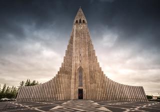 Hallgrímskirkja - Reykjavík (Iceland)