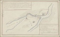"""The BL King's Topographical Collection: """"[A map of Fort Carillon and environs] """""""