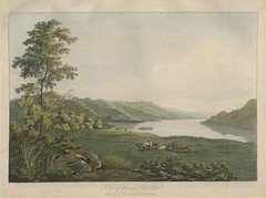 "The BL King's Topographical Collection: ""A View of Ullswater in Cumberland. """