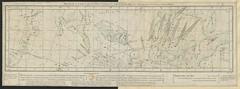 """The BL King's Topographical Collection: """"Routes de la Comète qui a été observée pendant les années 1531, 1607, 1682; et qui doit reparoitre en 1757 ou 1758: par Jamard."""""""