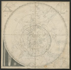 """The BL King's Topographical Collection: """"A Chart, exhibiting the Paths of the Comets of 1577 and 1680; and of 1652 and 1698."""""""