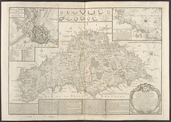 """The BL King's Topographical Collection: """"The SEA COAST of BELL-ISLE from POINTE de PIERRE to the Guard House de St. FOY near which the BRITISH FORCES landed 22d. of April 1761. """""""
