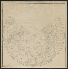 """The BL King's Topographical Collection: """"Planiglobium Boreale--Planiglobium Australe--Coniglobium Boreale--Coniglobium Australe--Horizonttafel fur die Planiglobia--Horizonttafel fur die Sternkegel; per Rosmaesler."""""""