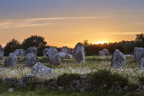 Coucher de soleil néolithique