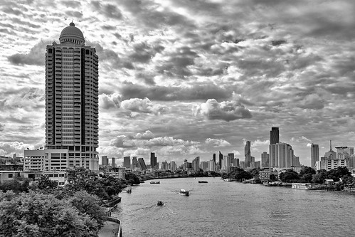 "Bangkok – View from ""Sky Park"""