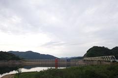 岩尾内ダム 水少ない