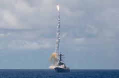 USS Chung-Hoon (DDG 93) launches an SM-2 missile during RIMPAC 2020.
