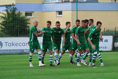 A-tím: PŠC Pezinok - FK Slovan Ivanka pri Dunaji (08/2020)