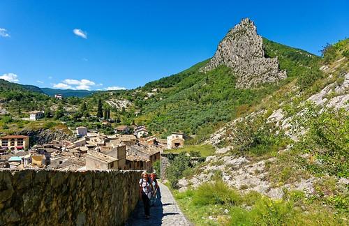 Entrevaux / Climb to the Vauban citadel