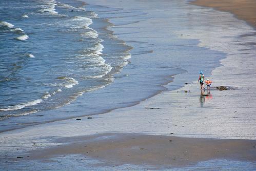 Sur a plage Bretagne France_2226
