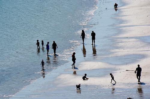 Sur la plage Bretagne _2829