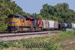 UP 9024   EMD SD70AH   CN Memphis Subdivision