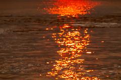 Smoky Sunset Sparkles in Santa Cruz