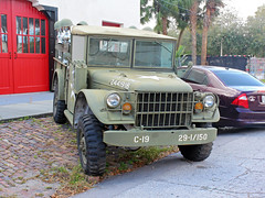 Old Army Truck, Fire Station No 5, Tampa