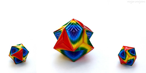 Origami Polyhedron including Hyperboloid:6 (Aoto Morisawa)