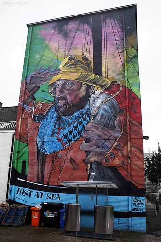 'LOST AT SEA' (Klaas van der Linden), Street Art ,Ghent, Belgium