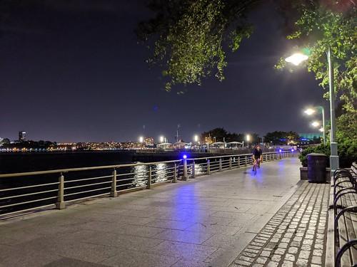 Night Bike on the Hudson