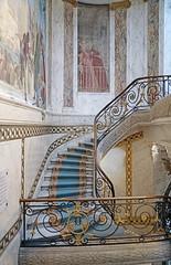 Le grand escalier du musée Jacquemart-André (Paris)