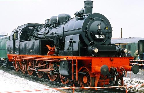 DB 78 468 (Nachbau P.St.B. T 18; Henschel 1923) FdE Hamburg