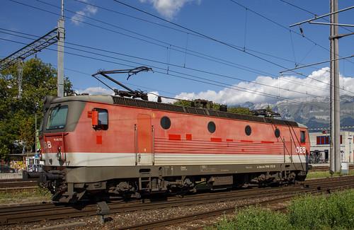 Österreichische Bundesbahnen ÖBB 1144 052 Buchs SG 26 augustus 2020
