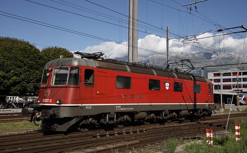 Schweizerische Bundesbahnen SBB 620 027-3 Buchs SG 26 augustus 2020
