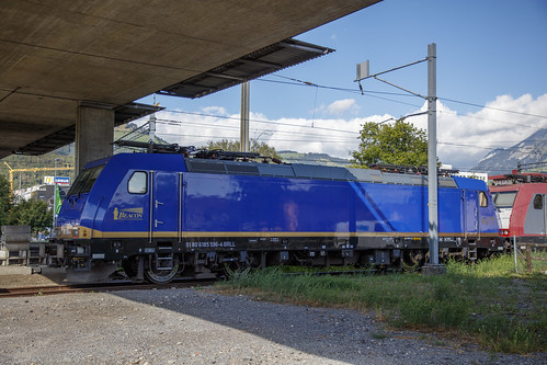 Beacon Rail 185 596-4 Buchs SG Schweiz 26 augustus 2020