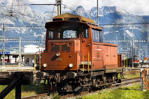 Schweizerische Bundesbahnen SBB 18838 Buchs SG 26 augustus 2020