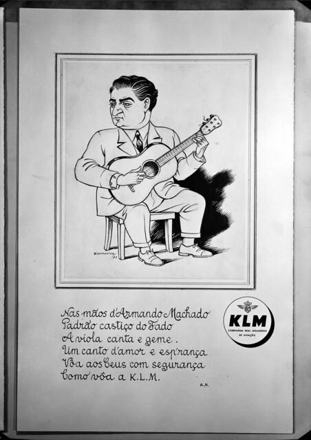 Photo:K.L.M - Companhia Real de Aviação. Portugal By Biblioteca de Arte-Fundação Calouste Gulbenkian