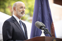 Gov. Wolf Unveils Monument Honoring 8th Ward