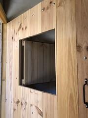 Cellar entry/door