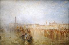 """""""Quai de Venise, palais des Doges"""" de W. Turner (musée Jacquemart-André, Paris)"""