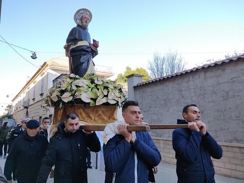 Processione in onore di Sant'Antonio Abate a Macerata Campania