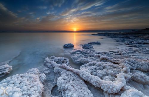 The Dead Sea, Jordan.