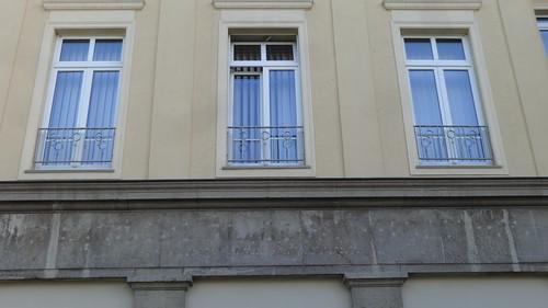 1957 Magdeburg Ziergitter Kieferchirurgische Klinik Haus 19 Sudenburger Klinik Leipziger Straße 44 in 39120 Süd
