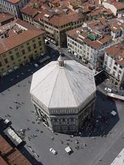 Firenze - Battistero (Dall'alto)