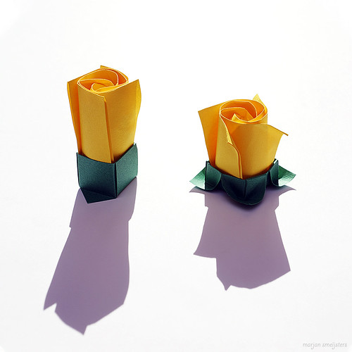 Origami Lesson 3: Development of a Rose (Toshikazu Kawasaki)