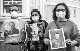 2020 Agosto. Homenaje a tres deportados en Malpica (A Coruña)